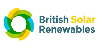 Logo for British Solar Renewables