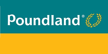 Logo for Poundland.